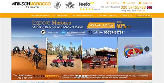 Cheap Holidays to Morocco